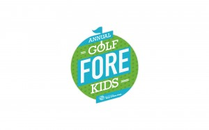 Logo for Annual Golf Fore Kids