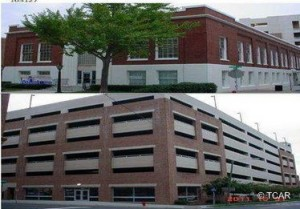 Exterior photo of West Village: Fuller Street Garage