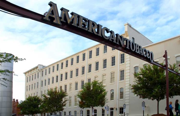 Apartments American Tobacco Sign old bull