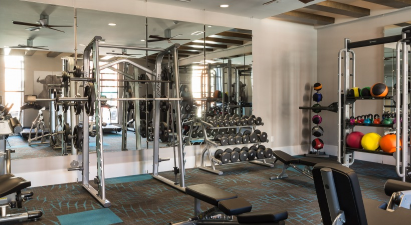 Bull House Apartments Gym