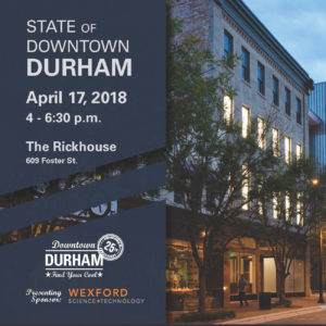 Banner image for State of Downtown Durham 2018