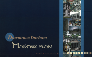 Downtown Durham master plan cover