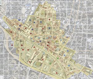 Downtown Parking Map 2020