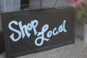 Shop Local Sign