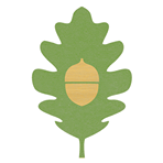 Logo for Acorn and Oak