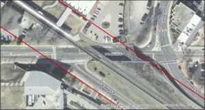 Request for qualifications satellite view for Great Jones mural