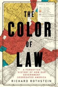 Book cover of The Color of Law