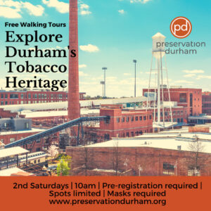 Banner image for Preservation Durham's Explore Durham's Tobacco Heritage Walking Tour