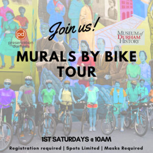 Banner image for Preservation Durham's Murals By Bike Tour