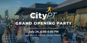 City PT Grand Opening banner image
