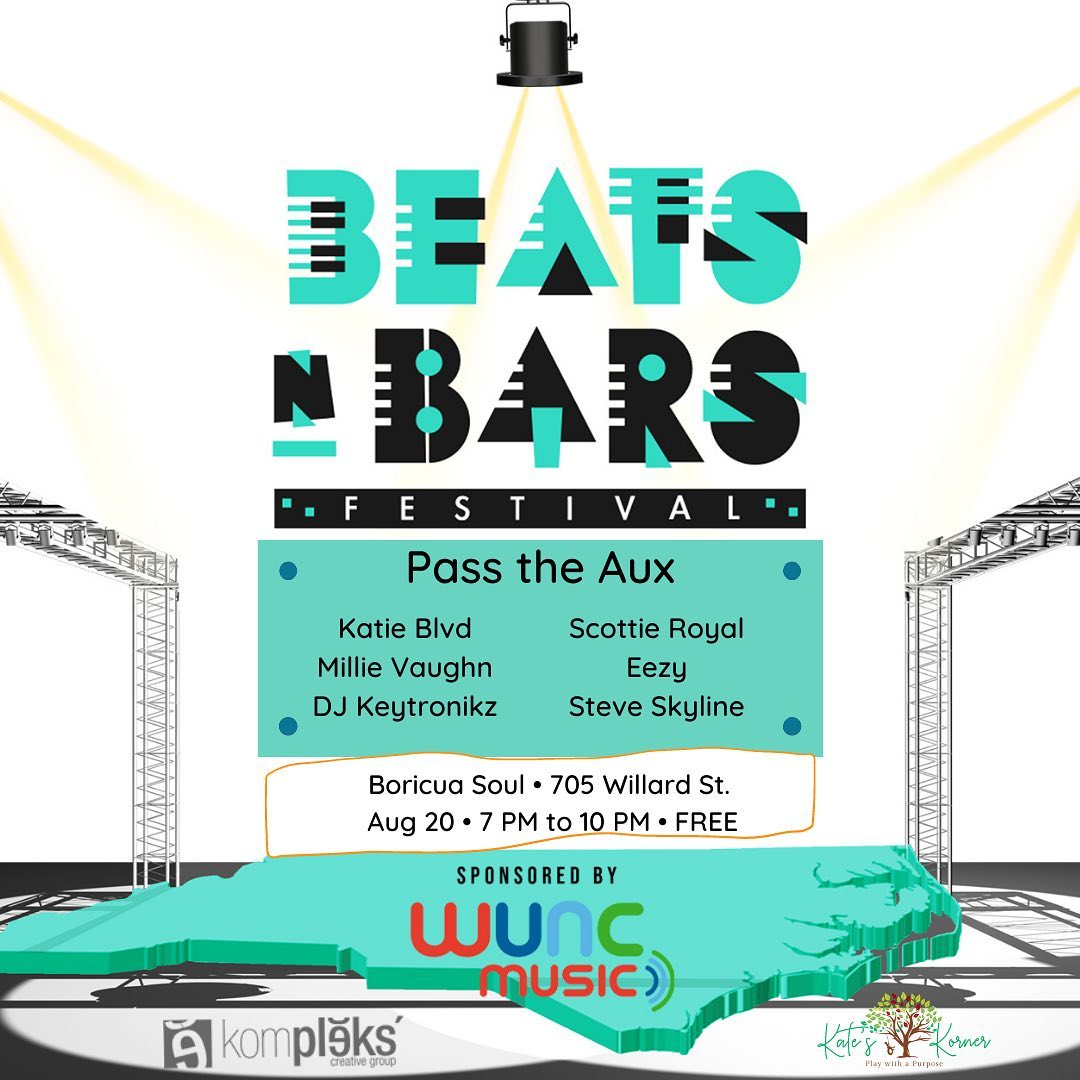 Beats and Bars Pass the Aux banner image