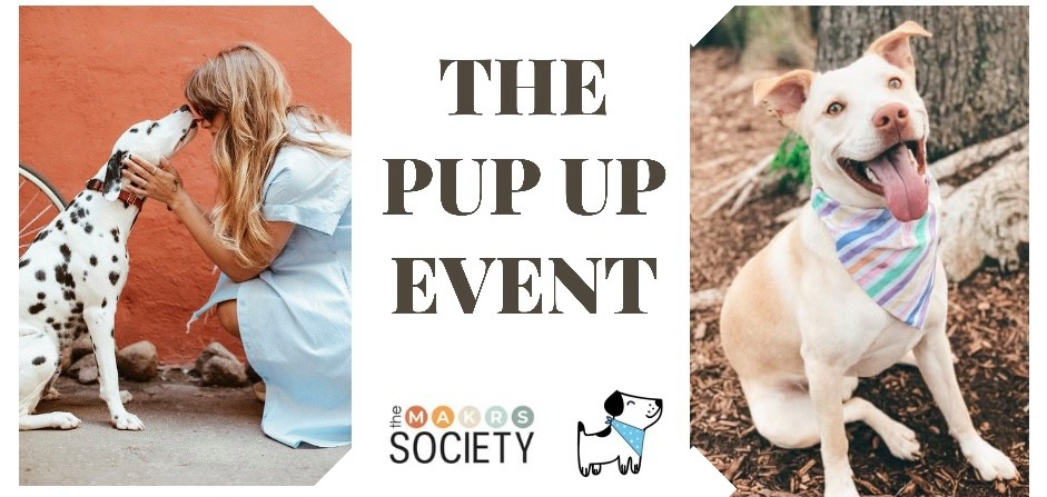 the Pup Up banner image