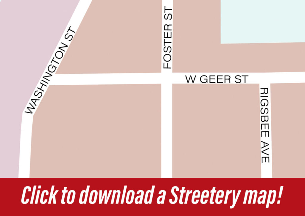 Click to download a Streetery Map